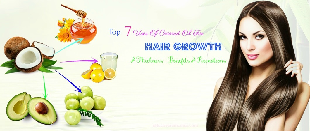 coconut oil for hair growth and thickness