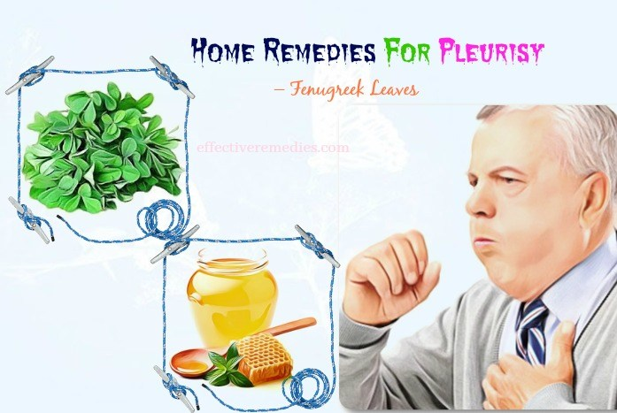 home remedies for pleurisy pain - fenugreek leaves