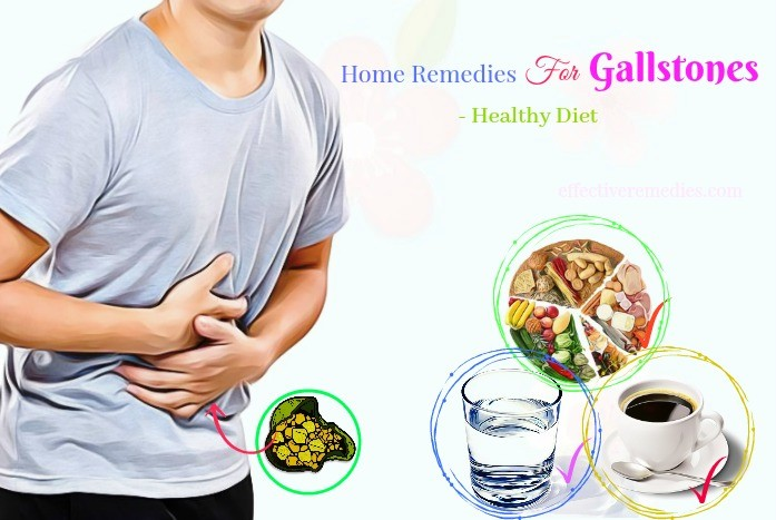 home remedies for gallstones - healthy diet