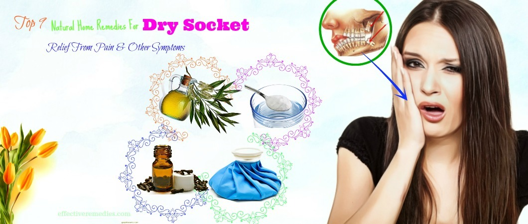 natural home remedies for dry socket