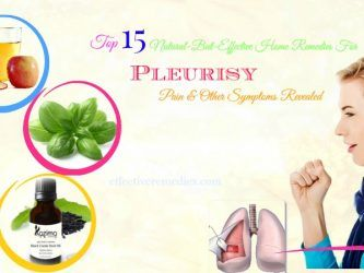 home remedies for pleurisy pain