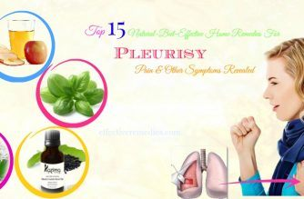 home remedies for pleurisy pain