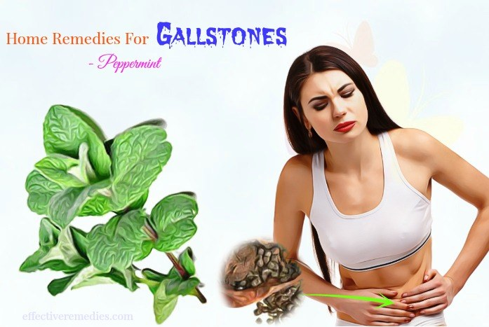 natural home remedies for gallstones - peppermint