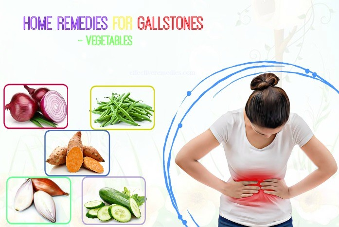 home remedies for gallstones pain relief - vegetables