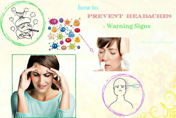 how to prevent headaches naturally - warning signs