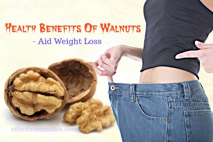 benefits of walnuts for pregnancy - aid in weight loss