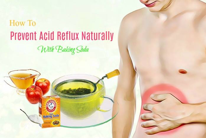 how to prevent acid reflux without medication - baking soda