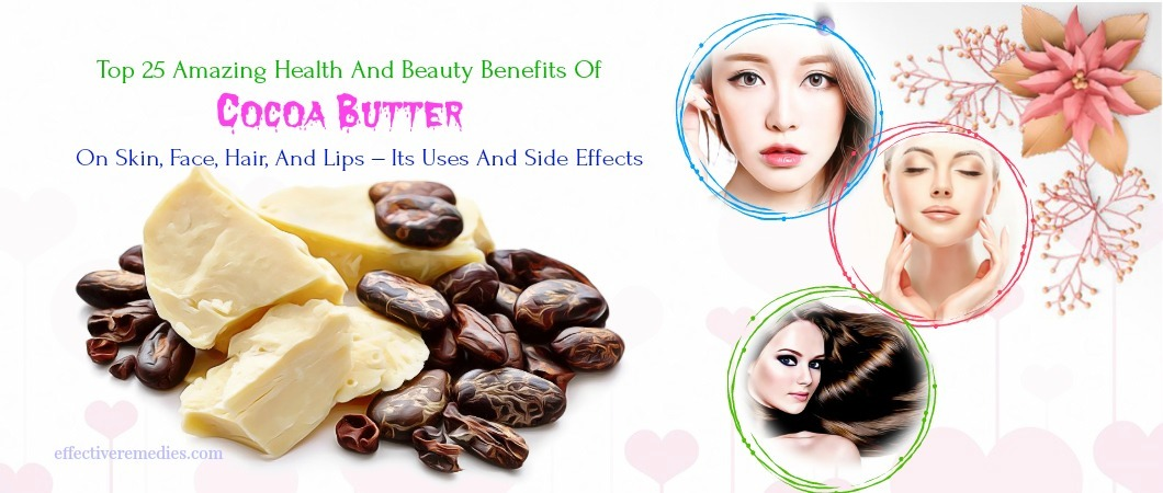 benefits of cocoa butter on skin