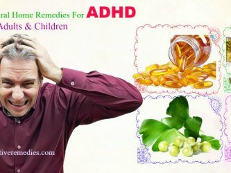 natural home remedies for adhd