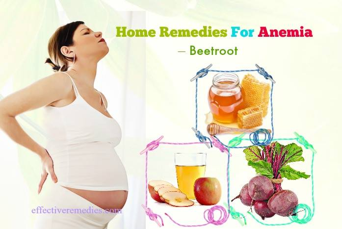 home remedies for anemia - beetroot