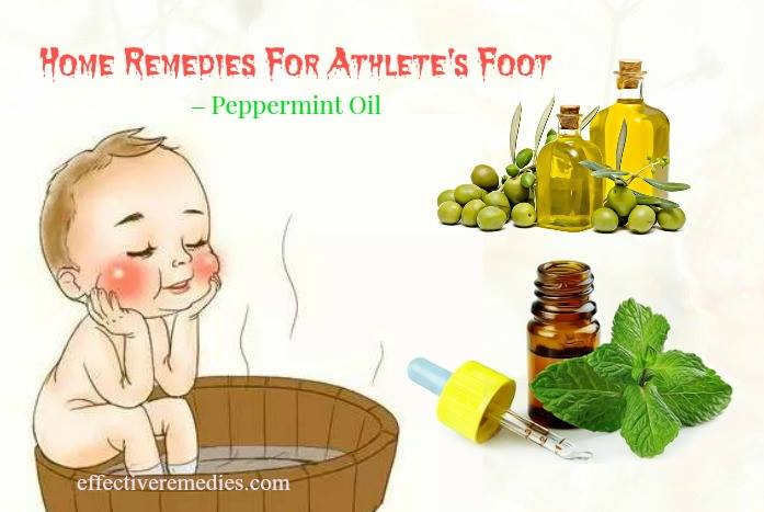 home remedies for athlete's foot - peppermint oil
