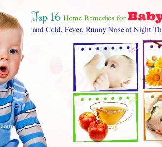 home remedies for baby cough and cold