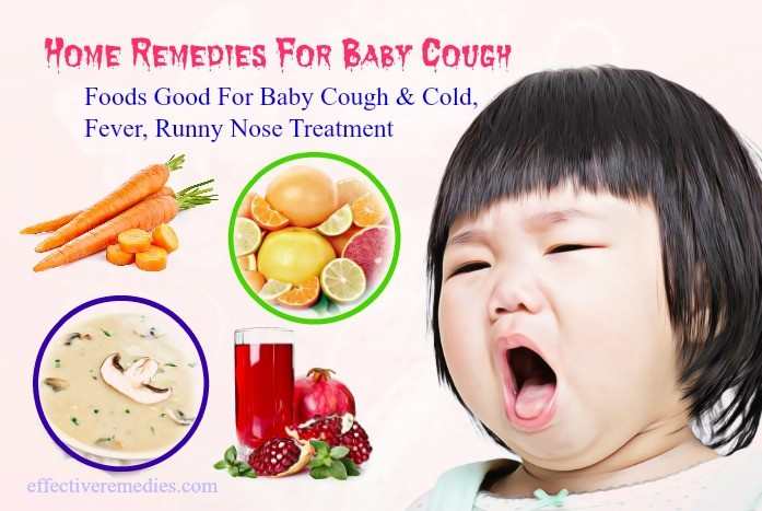 16 Home Remedies For Baby Cough Cold Fever Runny Nose