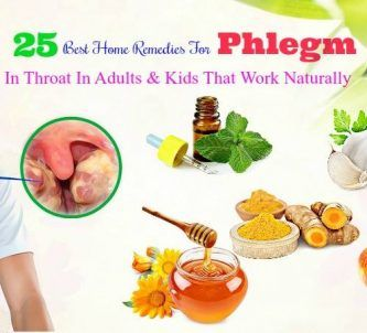 home remedies for phlegm