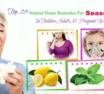 home remedies for seasonal allergies in adults