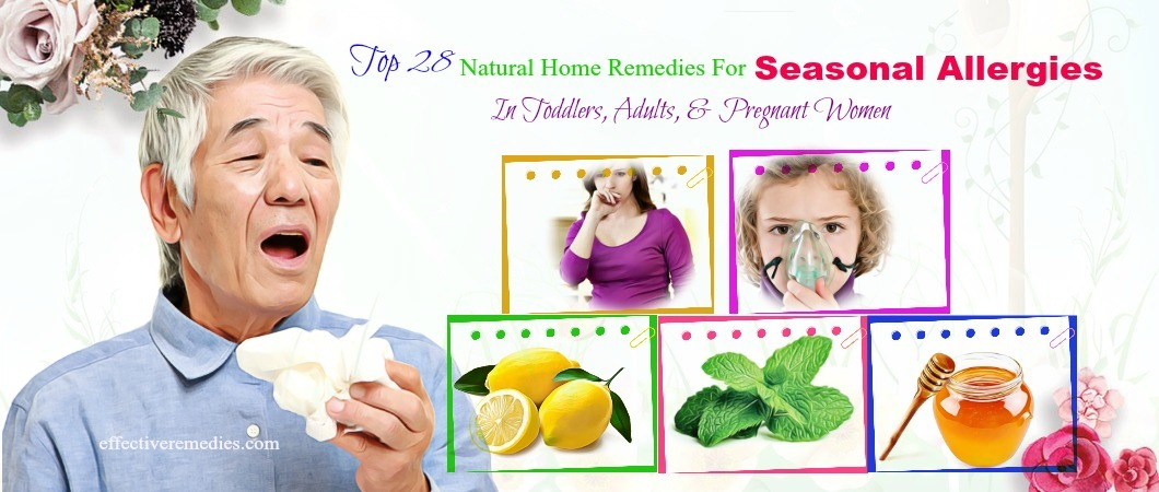 home remedies for seasonal allergies in adults