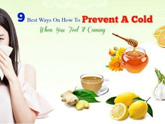 how to prevent a cold when you feel it coming