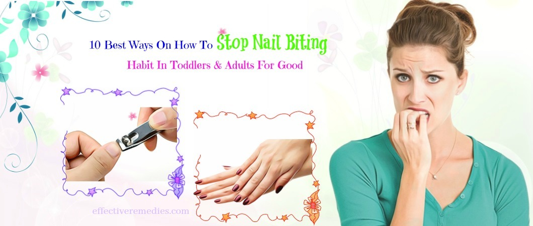 how to stop nail biting in toddlers
