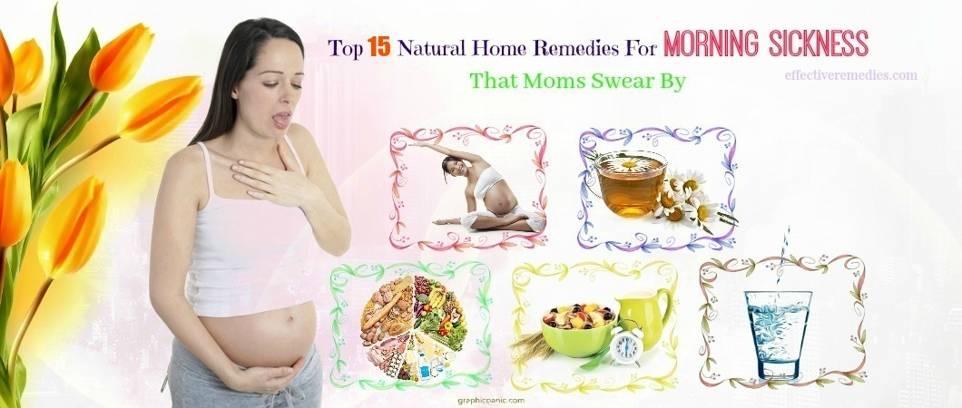 home remedies for morning sickness