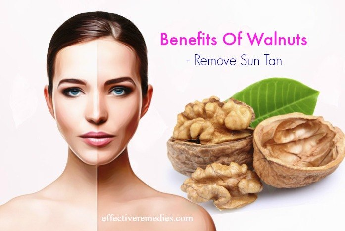 benefits of walnuts for diabetes - remove sun tan