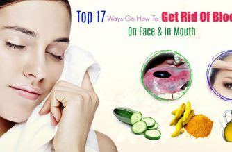 how to get rid of blood blisters on face