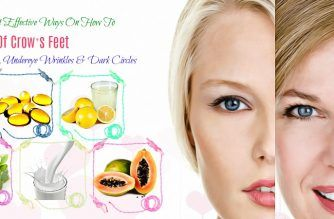 how to get rid of crow's feet and under eye wrinkles
