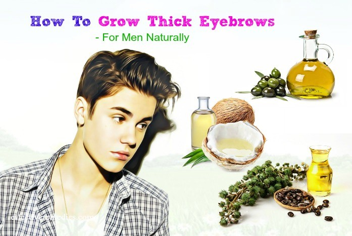 thick eyebrows for men