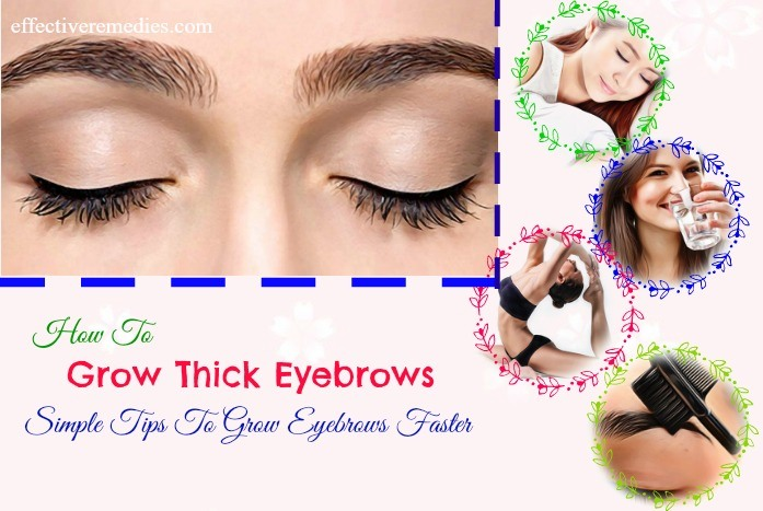 tips to grow eyebrows faster