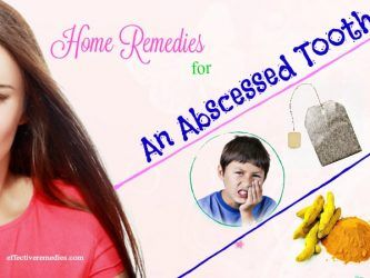 home remedies for an abscessed tooth pain