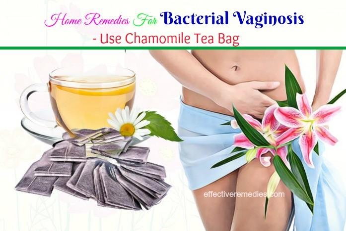 use chamomile tea bag