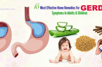 effective home remedies for gerd