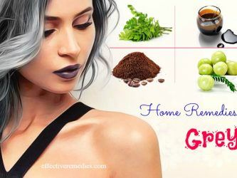 home remedies for grey hair in young age