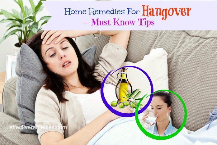 home remedies for hangover - must-know tips