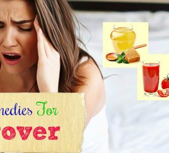 effective home remedies for hangover