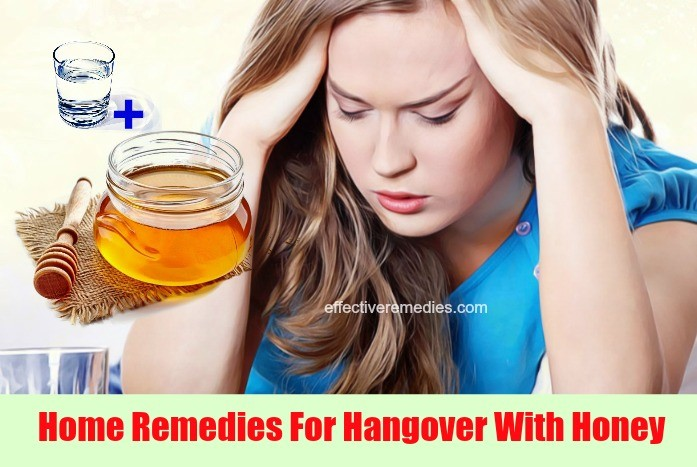 home remedies for hangover - honey