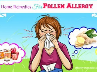home remedies for pollen allergy symptoms