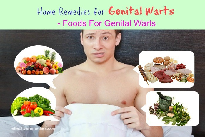 foods for genital warts