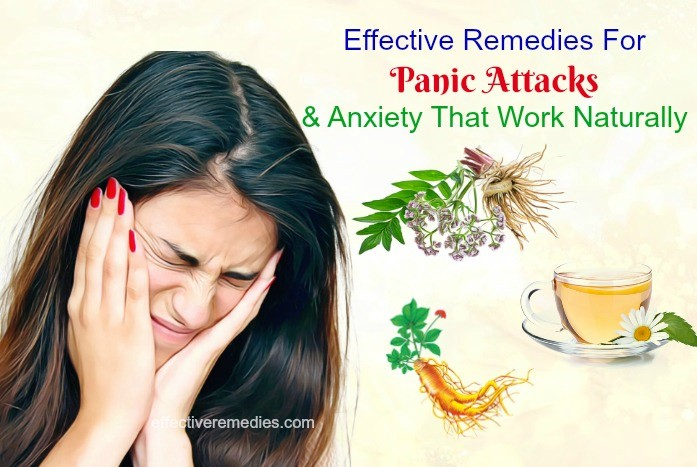 effective remedies for panic attacks & anxiety that work naturally