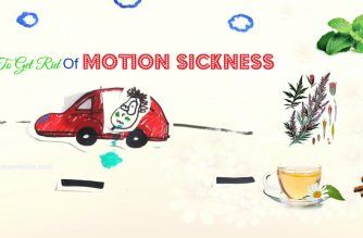 how to get rid of motion sickness quickly