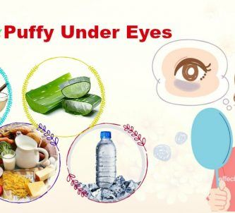 how to get rid of puffy under eyes instantly