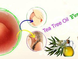 tea tree oil for boils on inner thighs