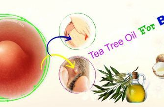 tea tree oil for boils on inner thighs