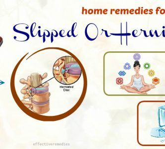 effective home remedies for slipped or herniated disc