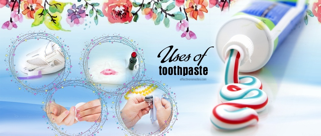 uses of toothpaste