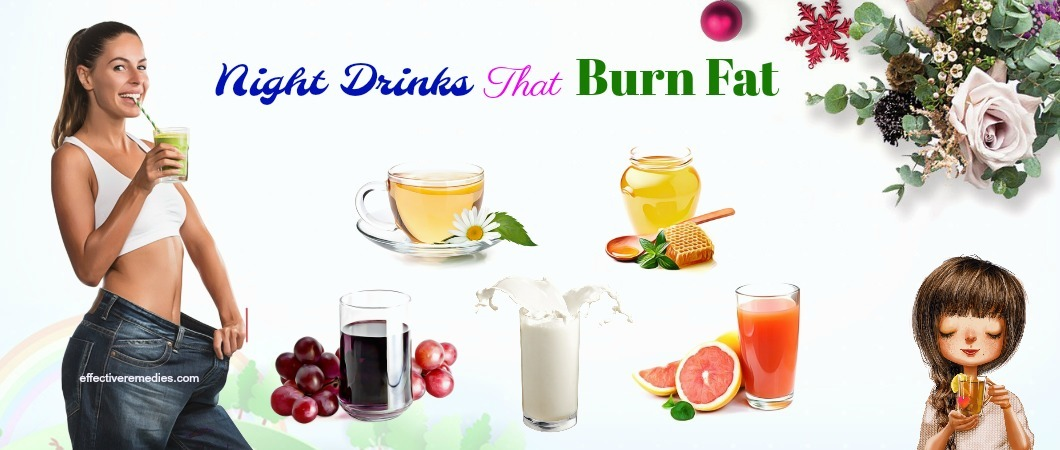 night drinks that burn fat like crazy