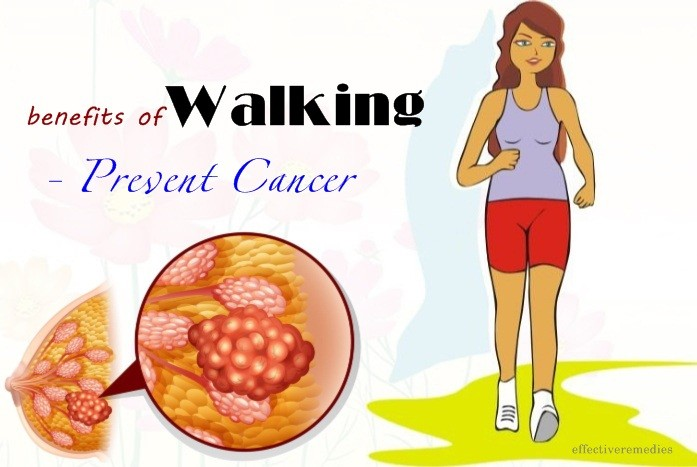 benefits of walking - prevent cancer