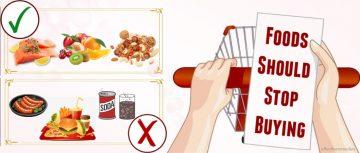 top foods you should stop buying