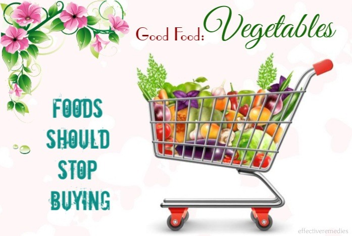foods should stop buying - good food vegetables