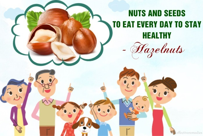 nuts and seeds to eat every day to stay healthy - hazelnuts