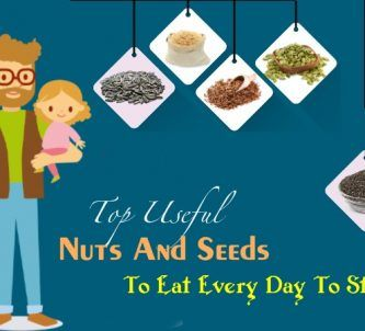 useful nuts and seeds to eat every day to stay healthy